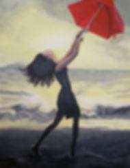 Acrylic girl at beach.jpg