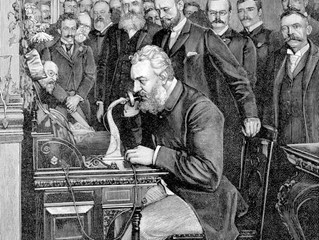 "The Boy Who Discovered that Wire can ""Talk"": The Invention of the Telephone"