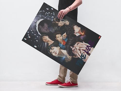 BTS FAKE LOVE - POSTER