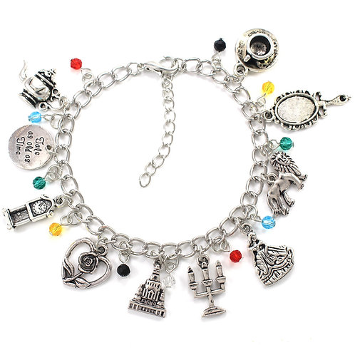Beauty & the Beast Charm Bracelet