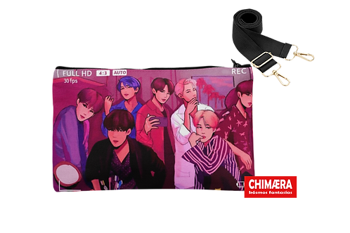 BTS CAMERA - CROSSBODY BAG