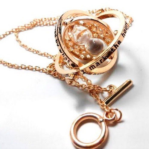 HP HERMIONE TIME TURNER NECKLACE