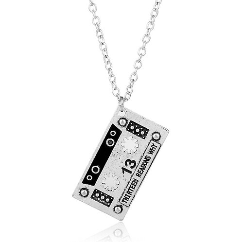 13 Reasons Why Pendant with Chain