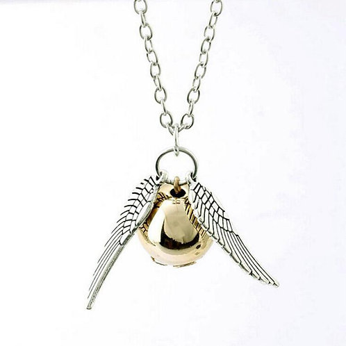 Harry Potter Snitch Pendant with Chain