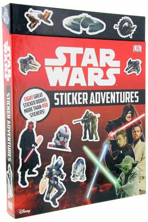 STAR WARS STICKER ADVENTURE: 8 BOOK SET - BOOK