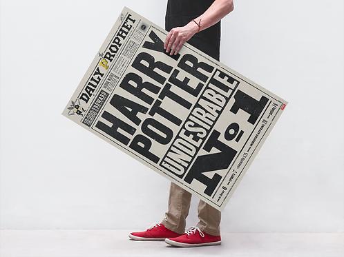 HP NEWSPAPER - POSTER