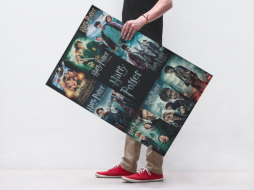 HARRY POTTER ALL SERIES - POSTER