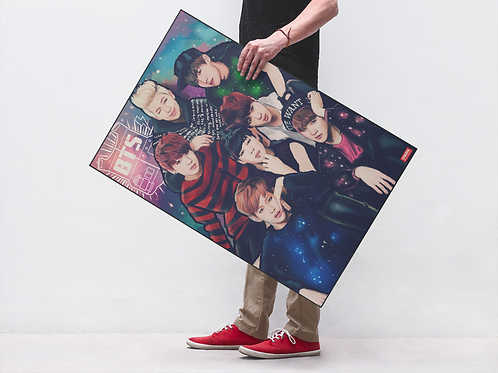 BTS LOVE YOURSELF - POSTER