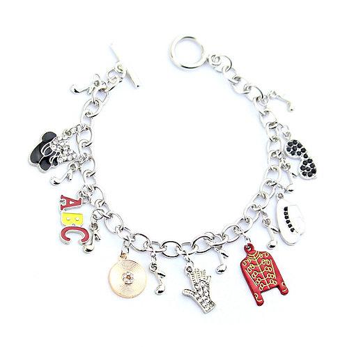 Michael Jackson Charm Bracelet