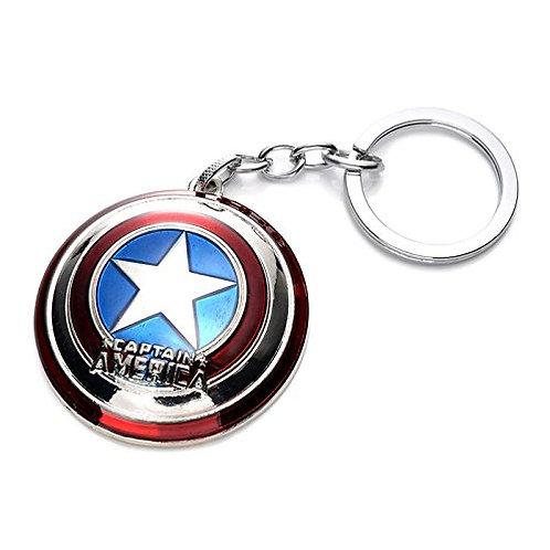 Captain America Metal - Keychain