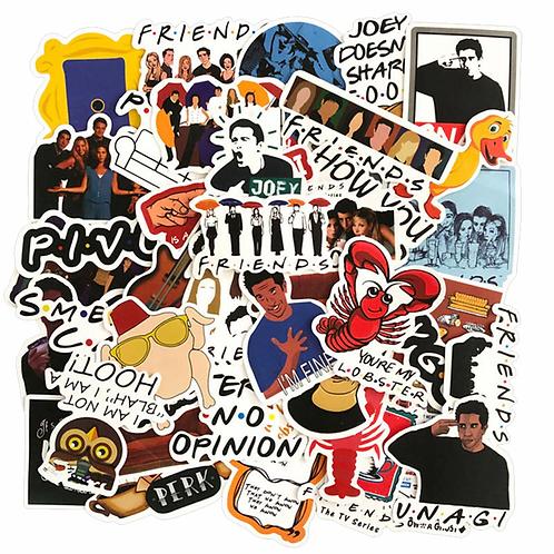 Friends Uncut Sticker Sheet (Random Design)
