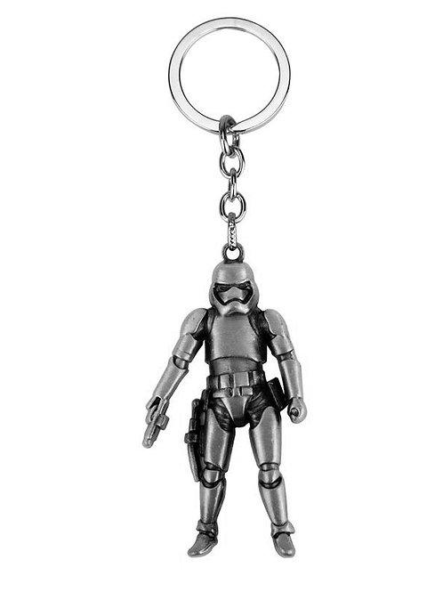 Stormtrooper Figure Metal - Keychain