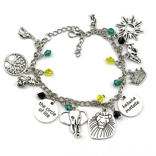Lion King Charm Bracelet