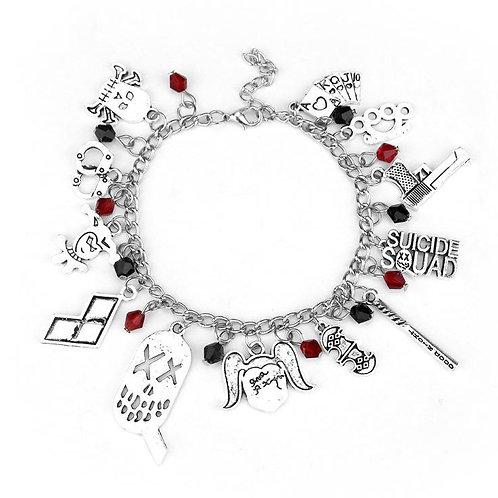 Suicide Squad Charm Bracelet