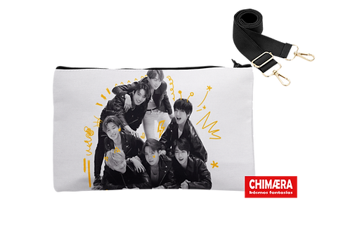 BTS BLACK & WHITE - CROSSBODY BAG