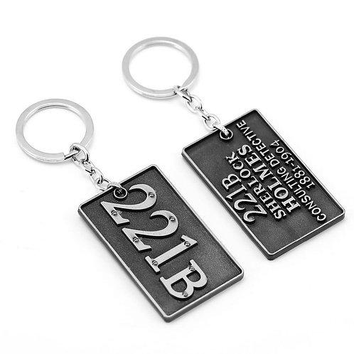 Sherlock Holmes Metal - Keychain