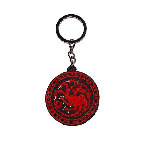 Targaryen Silicone - Keychain