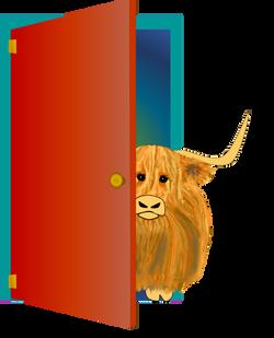 Woolly Moo_doorway