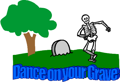 Dance On Your Grave logo