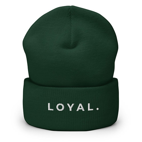 LOYAL Cuffed Beanie