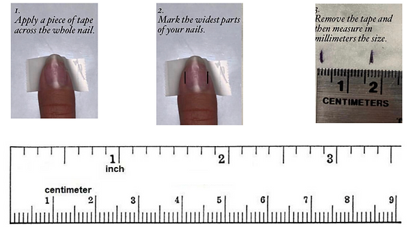 Printable Nail Ruler
