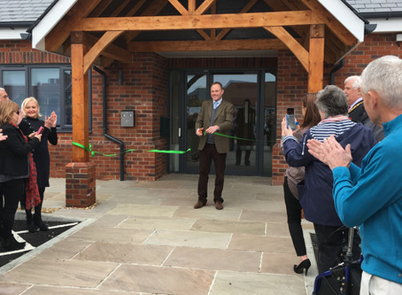 Village Hall Official Opening