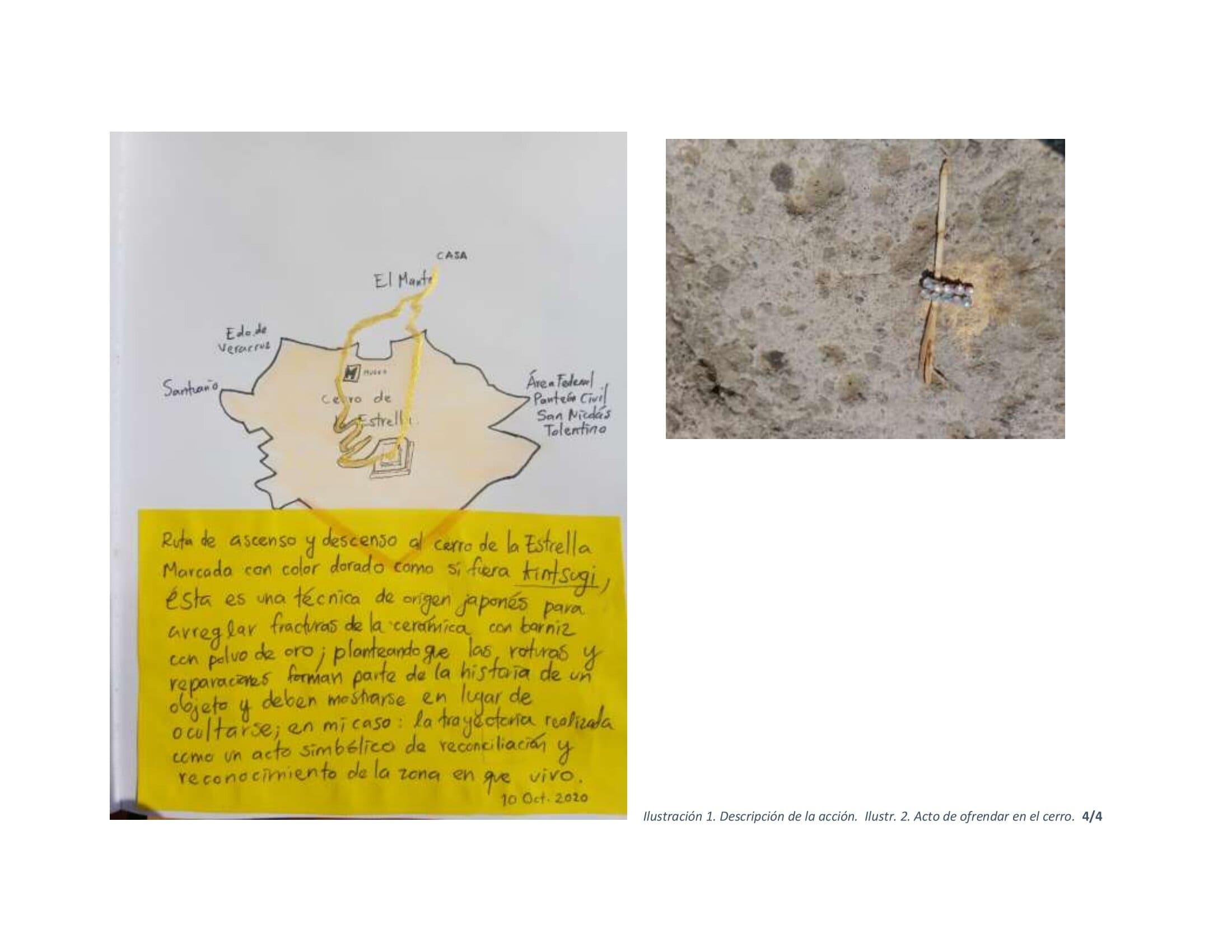 SARA-5-Cerro de la Estrella, memoria y v