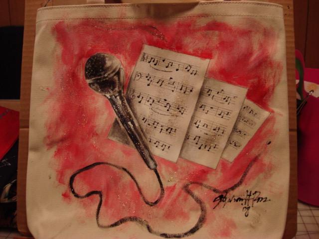 Music totebag