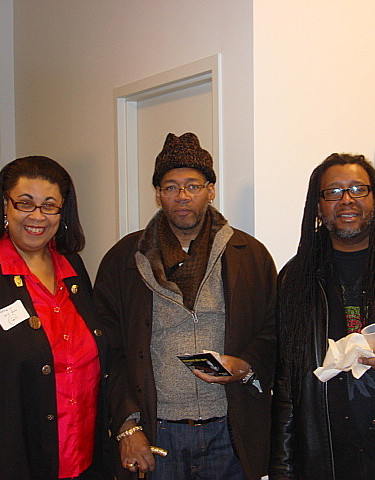"Guests @ the Compuware Gallery Exhibit-""Eyes a Wide"""