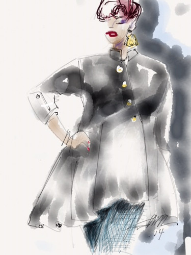 Blackshirt illustration