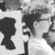 Silhouettiste, silhouette, évémentiel Lyon, évenementiel Auvergne Rhône Alpes, événementiel Suisse, événementiel Paris, événementiel Genève, soirées d'entreprise, Bar Mitsva, salons, journées portes ouvertes