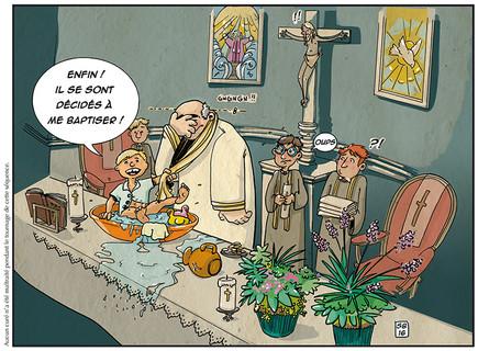 Carte baptême
