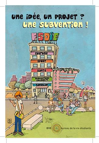 Affiche FSDIE université Lyon