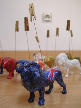 Atelier mini lions de Lyon