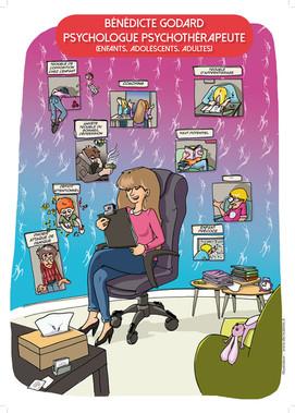 Affiche cabinet psychologue