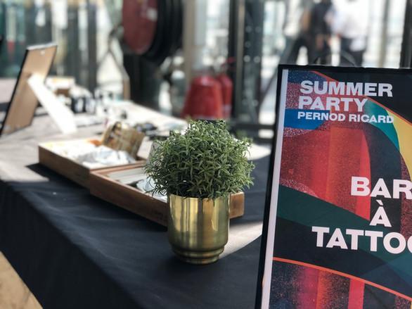 Tattoo au centre Pompidou