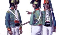 """EL REGIMIENTO """"VOLUNTARIOS DE TARRAGONA"""" EN 1803"""
