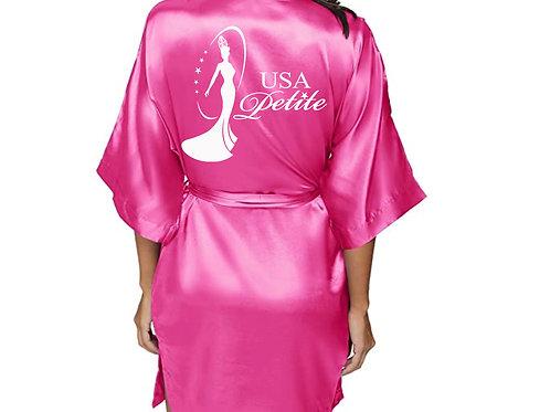 USA Petite Custom Silk Robe