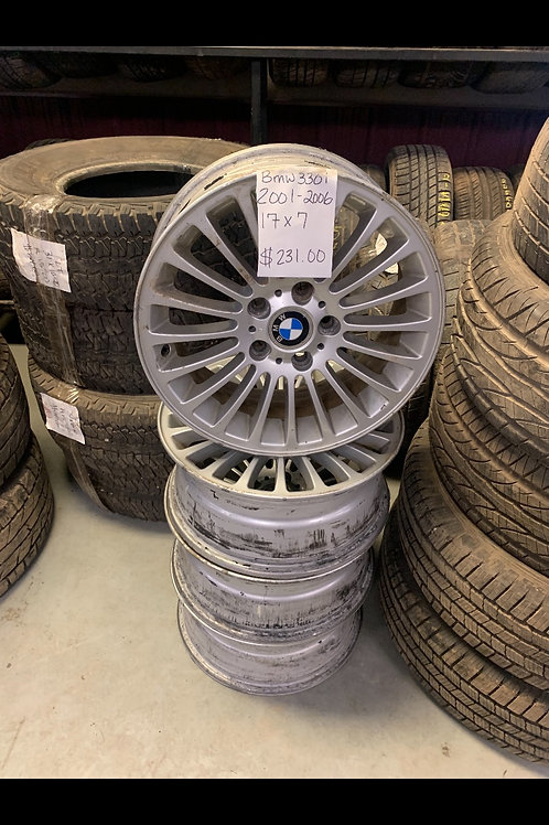 2001-2006 BMW 330i- Aluminum Rims Set of 4