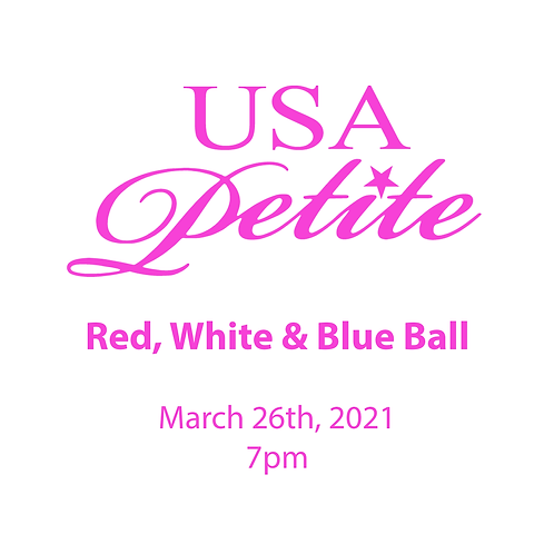 Red, White, & Blue Ball