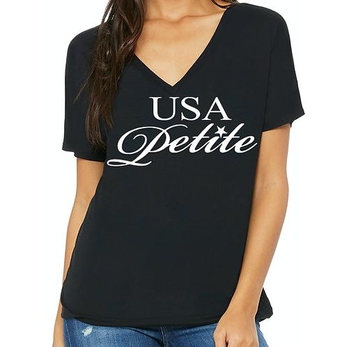 Logo Ladies V-Neck T-Shirt