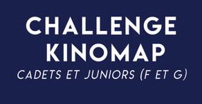 Challenge National sur Kinomap pour les cadets et juniors (F et G)