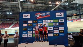 Championnat de France Piste : Record de médailles pour la sélection !