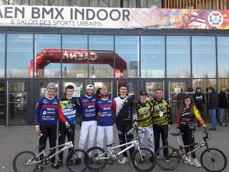 Résultats Indoor BMX de Caen