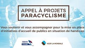 APPEL À PROJETS PARACYCLISME / PARTENARIAT FFC-AG2R LA MONDIALE