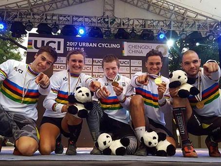 Trois coureurs médaillés aux Championnats du monde en Chine