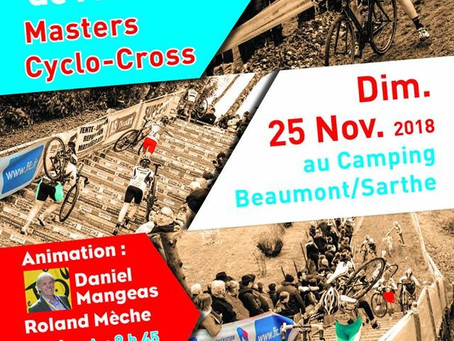 Championnats de France Masters Cyclo-cross 2018 Beaumont sur Sarthe