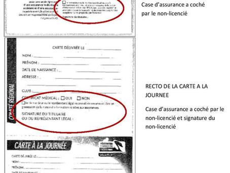 NOTE D'INFORMATION : Cartes à la journée épreuves VTT toutes disciplines