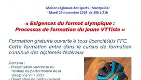Formation Entraîneur VTT