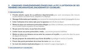 FFC Mesures Coronavirus